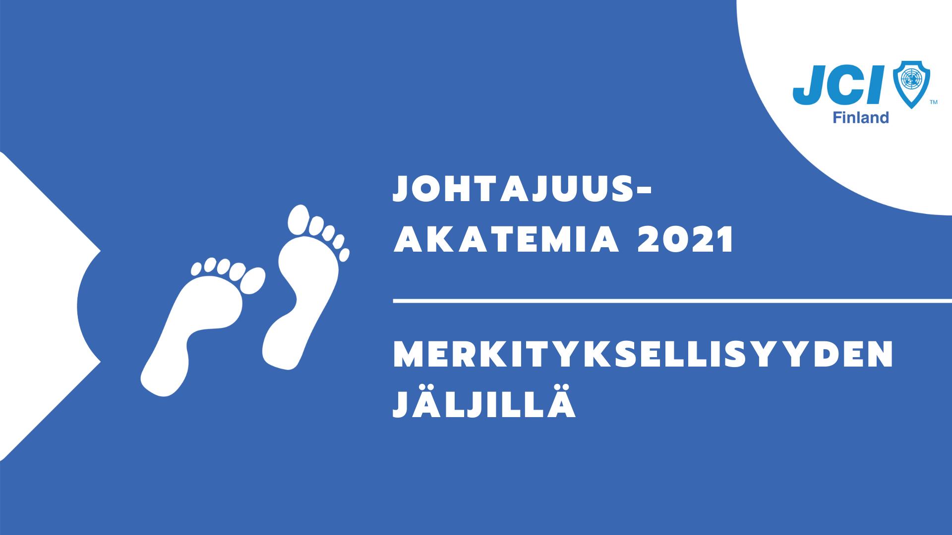 Johtajuusakatemia 2021 logo